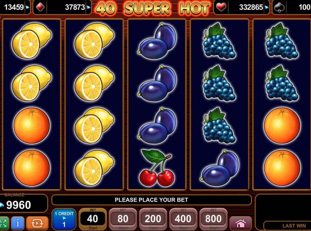 40 Super Hot Slot Oyna